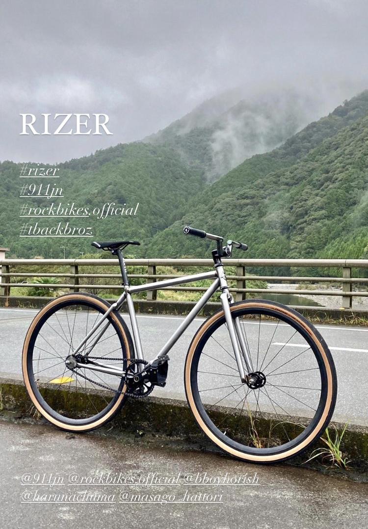 ピストフレーム(RIZER)先行公開。全体像のディティール